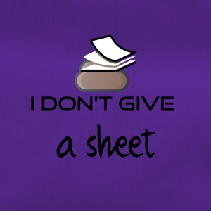 I do not give a sheet - Duffel Bag