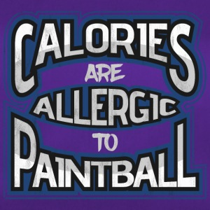 Calories are allergic to paintball - Duffel Bag