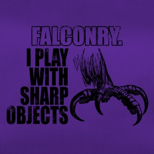 Falconry - play with sharp objects - Duffel Bag