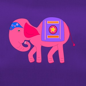 Pink elephant for - Duffel Bag
