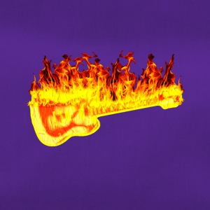 Fire guitar - Duffel Bag