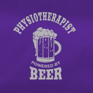 PHYSIOTHERAPIST powered by BEER - Duffel Bag