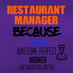 resturant manager - Sporttas
