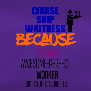 Cruise ship waitress - Duffel Bag