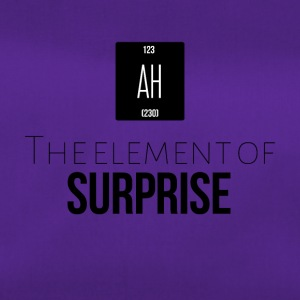 The element of surprise - Sporttasche
