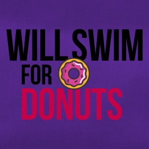 Will swim for donuts - Duffel Bag