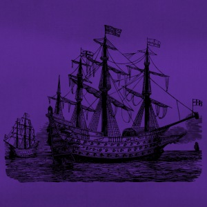 Sailing ship illustration - Duffel Bag