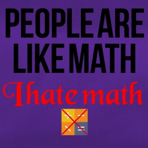 I hate math - Sporttasche