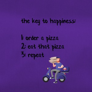 The key to happiness - Sporttasche