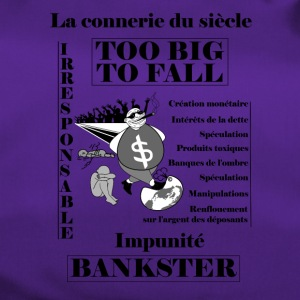 bankster irresponsible and unpunished - Duffel Bag