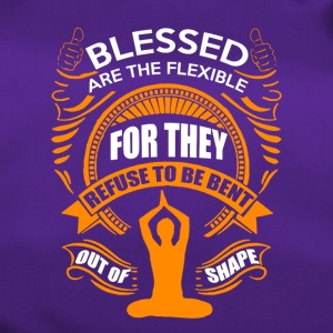 Blessed are the flexible - Duffel Bag