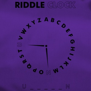 Riddle Clock Unicorn - Sporttasche