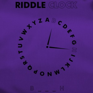 Riddle Clock Bitch - Sporttasche