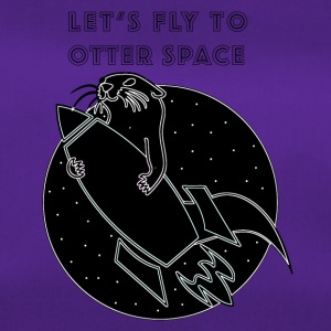 LET'S FLY TO OTTER SPACE - Duffel Bag