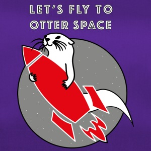 LET'S FLY TO OTTER SPACE -ROCK RAKETE - Duffel Bag