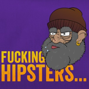 Anti Hipster Hobo - Fucking Hipsters - Sporttasche