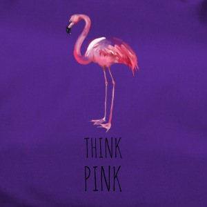 FLAMINGO. THINK PINK - Sporttasche