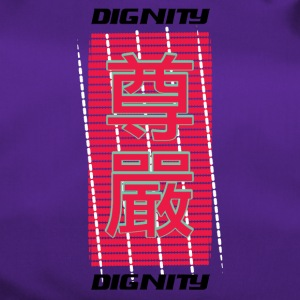 Dignity in Chinese characters - Duffel Bag