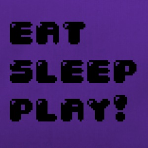 Eat, sleep, play! (Geek) - Sac de sport