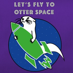 LET'S FLY Otter SPACE ROCKET -grüne - Sportväska