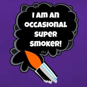 I am an occasional super smoker - Duffel Bag