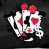 Card game hearts, spades, diamonds, clubs with dice and tokens - Borsa sportiva