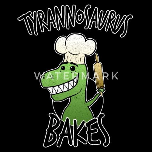 Backen T Rex Tyrannosaurus Dino Kuchen Lustig Sporttasche Spreadshirt