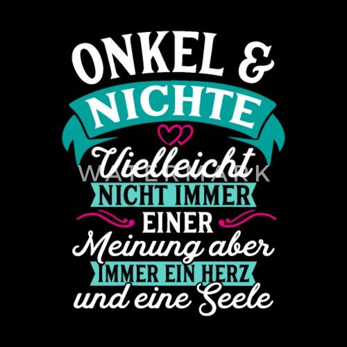 Onkel Nichte Seele Geschenk Geburtstag Von Spreadshirt