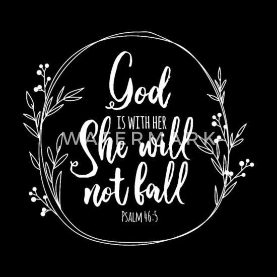 Cristianismo Fe Dios Biblia Salmo 46 5