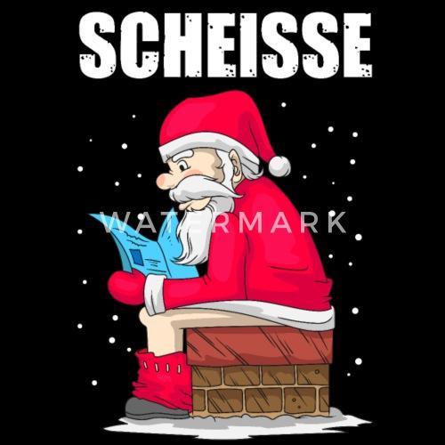 Scheisse Weihnachtsmann Anti Weihnachten Geschenk von | Spreadshirt