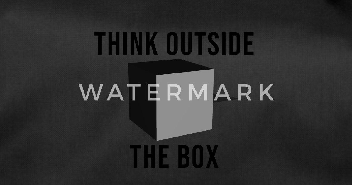 c9aee0ad12ff0e Think Outside The Box Torba sportowa | Spreadshirt