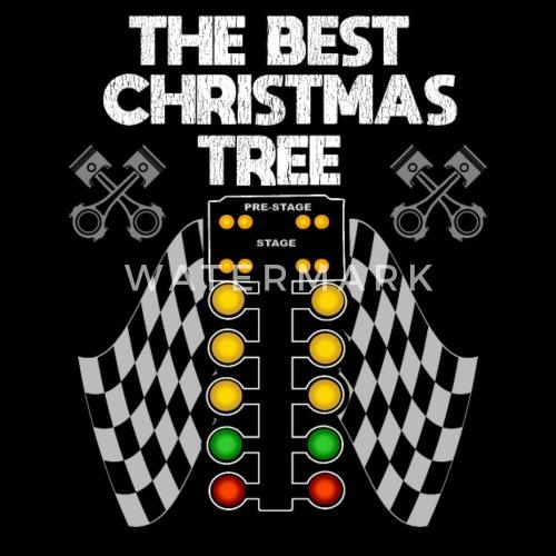 Drag Racing Funny Design Der Beste Weihnachtsbaum Sporttasche