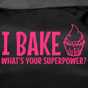 Jeg bake whats your supermakt / I bake - Sportsbag