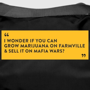 Farmville Vs. Mafia Wars - Duffel Bag