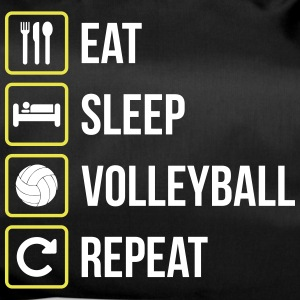 Eat Sleep Volleyball Repeat - Duffel Bag