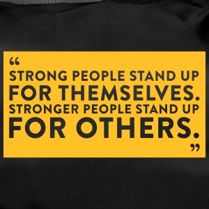 People With Courage Stood Up For Everyone! - Duffel Bag