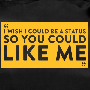 I Wish I Could Be A Status So You Could Like Me - Duffel Bag