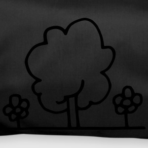 Tree with flowers - Duffel Bag