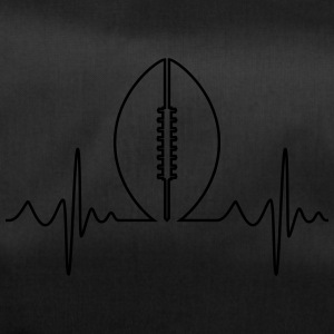 American Football Heartbeat - Sporttas