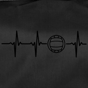My heart beats for volleyball - Duffel Bag