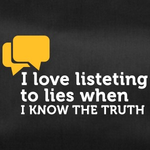 Lies Are Great If You Know The Truth. - Duffel Bag