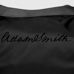 Adam Smith signature 1783 - Duffel Bag