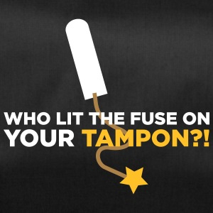 Who Lit Your Tampon? - Duffel Bag