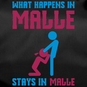 Malle what happens there - Duffel Bag