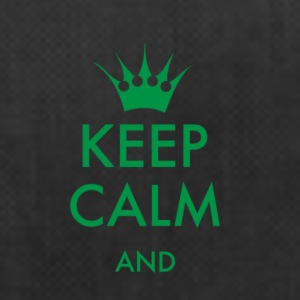 Keep Calm to self fill FONT keep calm gr - Duffel Bag