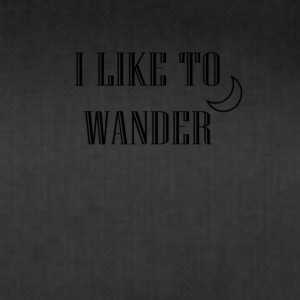 I like to wander - Sporttasche