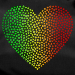 Rasta Weed Love - Duffel Bag