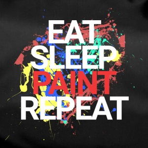 Eat Sleep Paint Repeat - Sporttasche