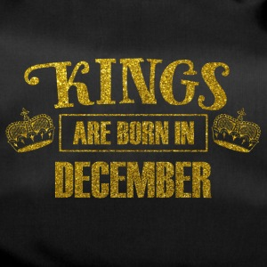kings are born in december - Geburtstag König - Sporttasche