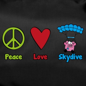 Peace Love Skydive - Sporttasche
